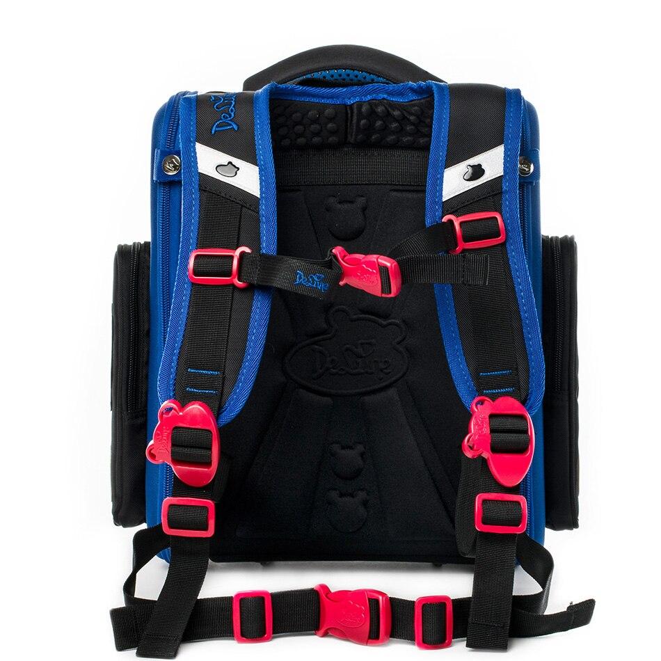 Delune enfants haute qualité 3D cartoon Cars sacs d'école garçons filles étudiants enfants voyage orthopédique cartable école sac à dos sacs - 3