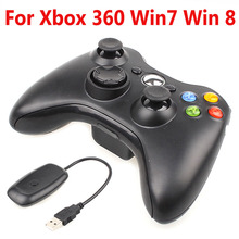 2.4G Wireless Game Controller for Xbox 360 Game Console Wireless Game Joystick With PC Receiver for Xbox 360 Gamepad Controller never alone design protector skin decal sticker for xbox 360 s game console full body