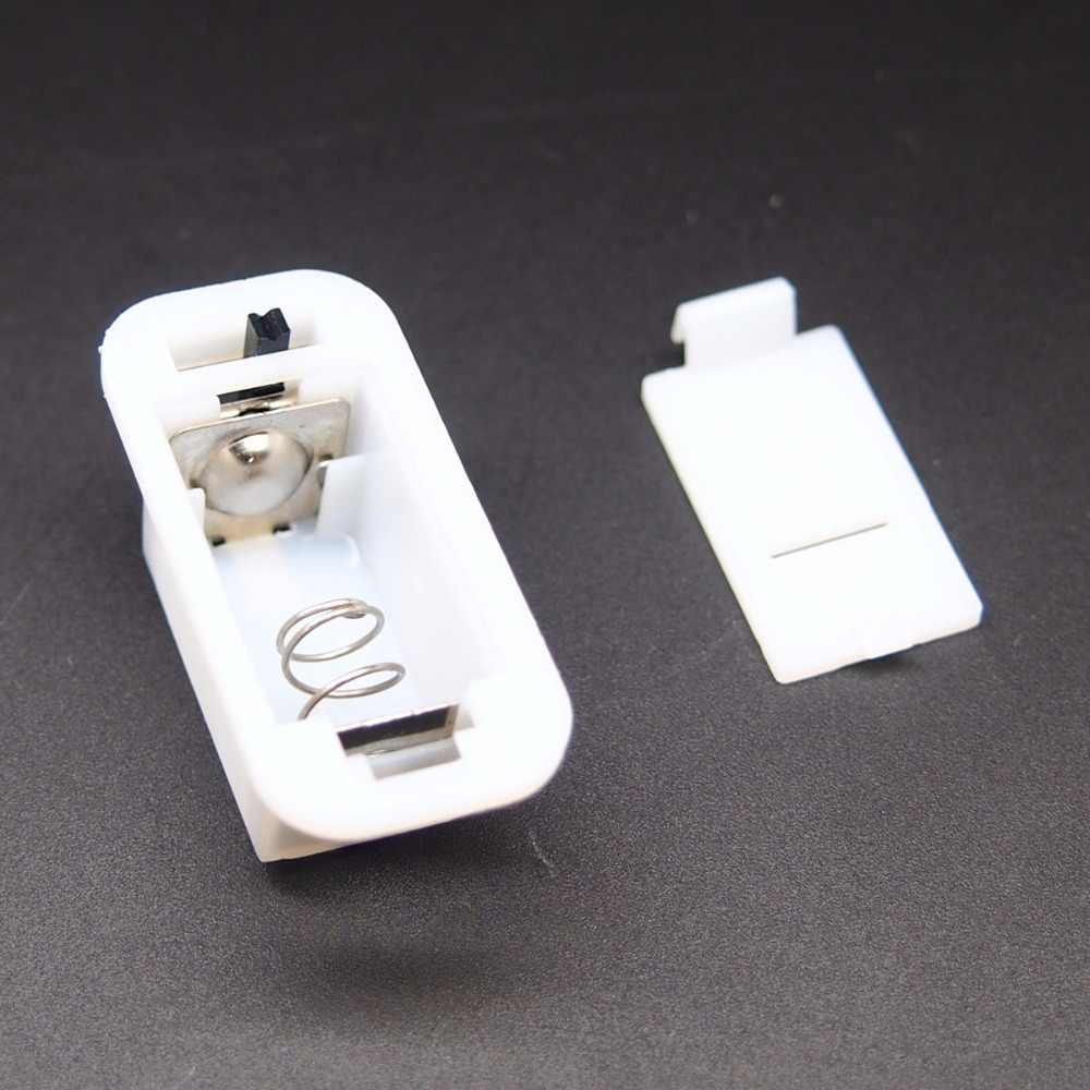 20pcs Ag13 Button Battery Holder With Shell With Switch For 3 Ag13