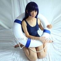 SUKUMIZU Summer Sexy One Piece Cosplay Japanese School Swimsuit Swimwear Blue White Transparent