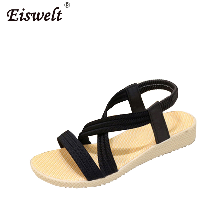 Flats Women Sandals Fashion Casual Beach Girls Summer Sandals Bohemian Women Shoes Women Summer Shoes Concise stainlizard 2017 boho women flats sandals fashion casual beach sandals bohemian flat shoes wild women summer shoes bt586