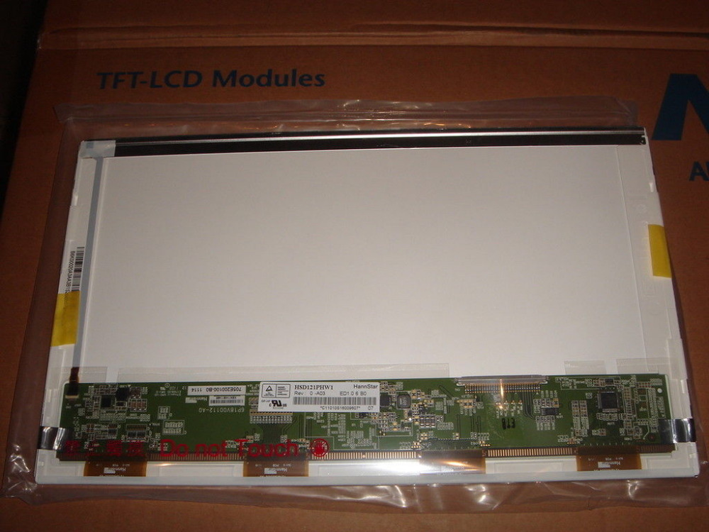 ФОТО QuYing Laptop LCD Screen Compatible Model HSD121PHW1-A03 HSD121PHW1-A01 for ASUS UL20A U210X 1201N 1201T 1210T 1215P