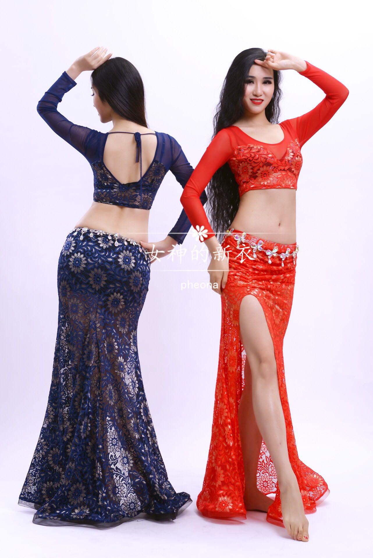 Nuevas mujeres traje de danza del vientre traje de danza del vientre - Novedad