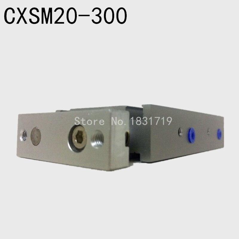 SMC type CXSM20-300 CXSM20*300 double cylinder / double shaft cylinder / double rod cylinder 20mm bore 300mm stroke стоимость