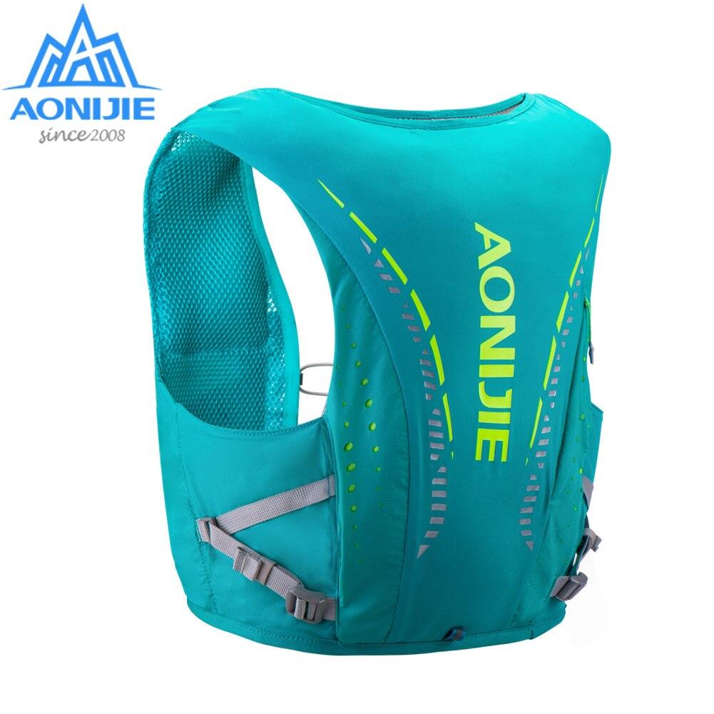 AONIJIE C942 sac à dos de peau avancé sac à dos d'hydratation sac à dos gilet harnais vessie d'eau randonnée Camping course Marathon