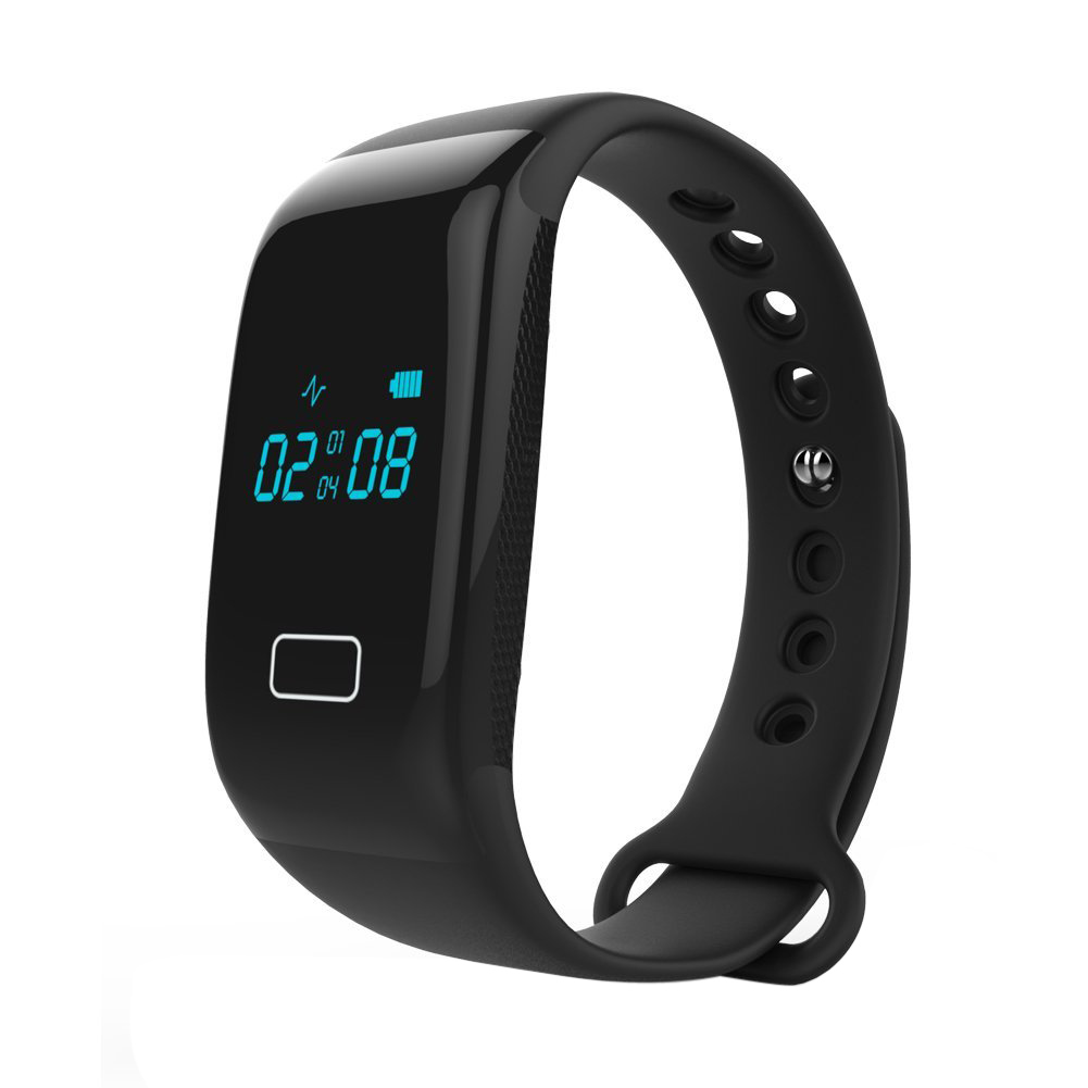K18S Heart Rate Smart Wristband bracelet Bluetooth 4 0 Sleep Monitor Sport Watch Black Color