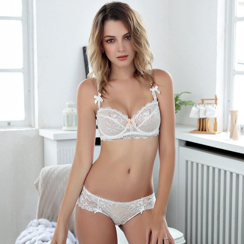 2017 Summer Lace   Bra     Brief     Sets   Transparent   Bra     Set   Women Sexy Underwear   Set   VS Secret Brand Intimates Lingerie   Set