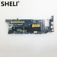 SHELI For Dell 12 9Q23 laptop Motherboard notebook pc mainboard I5 3317U 8GB RAM LA 8821P CN 0P3CG7 0P3CG7 P3CG7 100% test ok