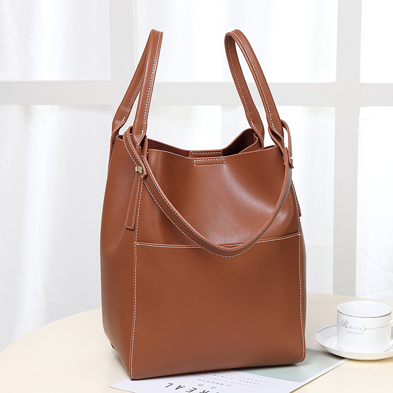 Brand Hot Sale Fashion Ladies Hobos Classic Women Handbag 100% Genuine Leather Large Capacity Shoulder Bag Casual Simple 2017 classic fashion 100