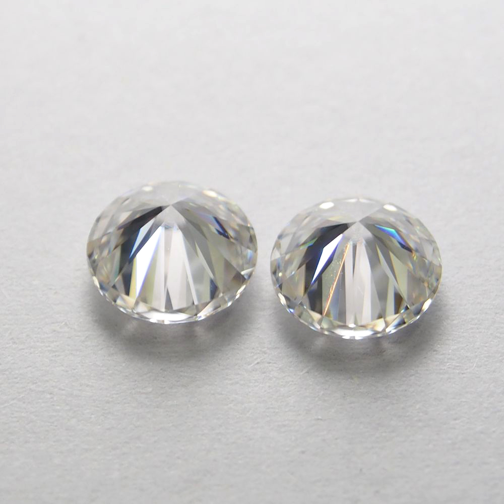 1 Carat/sac GH couleur 2.25 MM Moissanite taille brillant diamant moissanite pierre