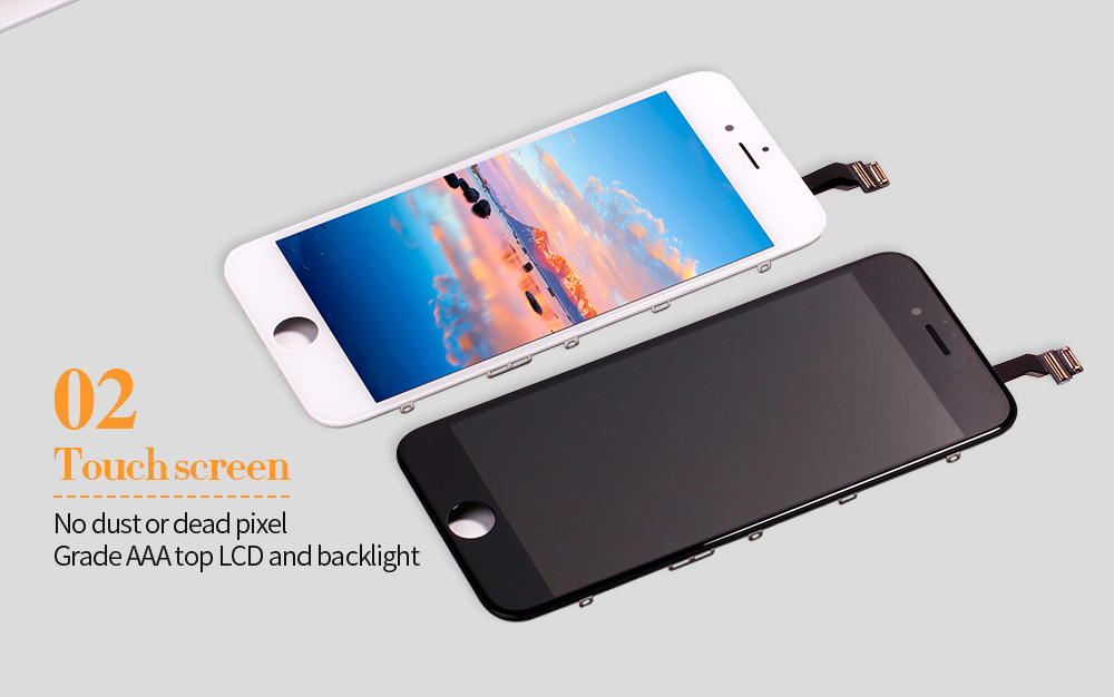 HTB1bkqahcj B1NjSZFHq6yDWpXaJ Black/White Assembly LCD Display Digitizer for iPhone 6s AAA Quality LCD Touch Screen for iPhone 6 7 5s No Dead Pixel with Gifts