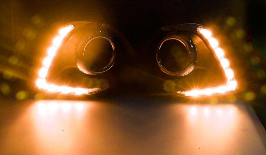 car accessories, Mitsubish ASX daytime light;2013~2016, Free ship!LED,ASX fog light,motorcycle,Outlander,ASX