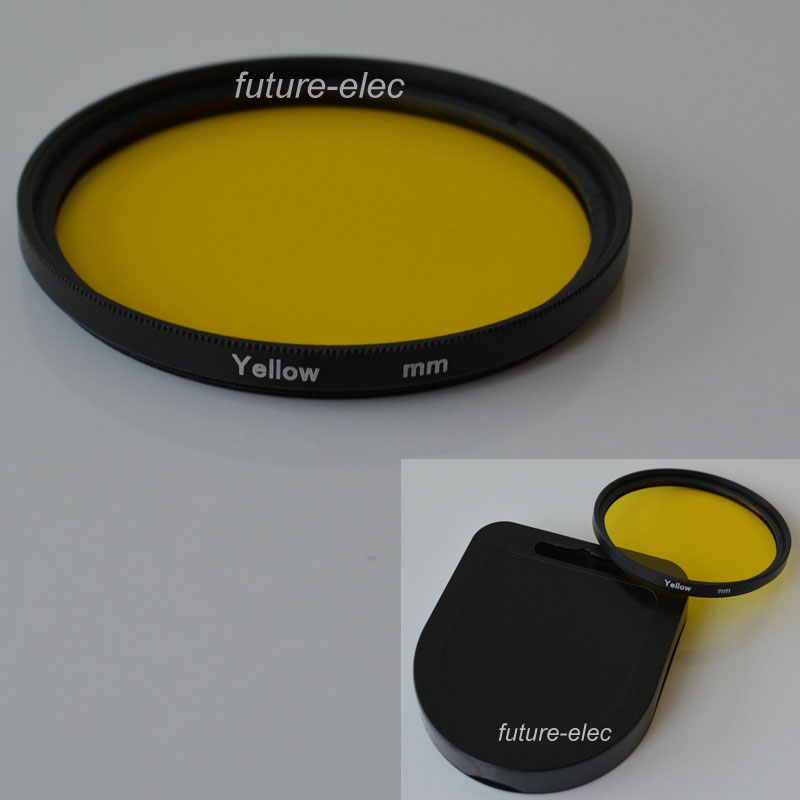 49mm Yellow Complete Full Color Special Lens Filter Lens Protector For Canon Nikon Sony Digital Camera 49 mm Lens