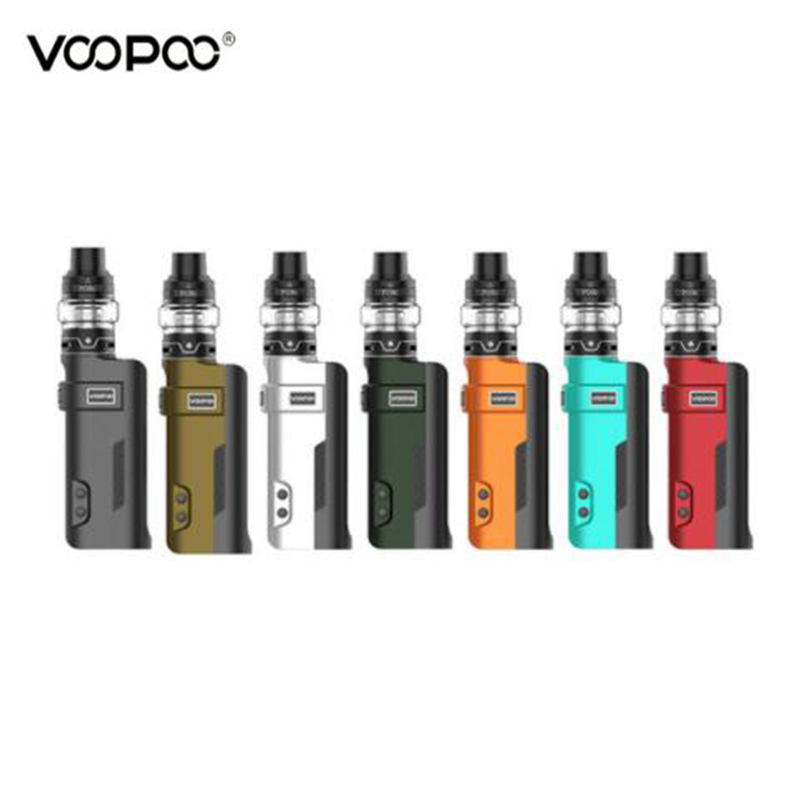 Original VOOPOO REX 80W TC Kit with 5ml UFORCE Tank Innovative GENE FIT Chip Electronic Cigarette