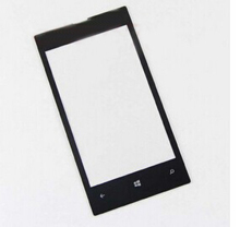A Quality Black Outer Glass lens For Nokia Lumia 520 Front  Glass Lens 100% Brand New Free Shipping With Logo(NOT for digitizer)