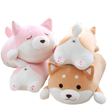 Милая плюшевая игрушка для собак Шиба ину, 36 см, мягкая подушка с мультяшным рисунком каваи, прекрасный подарок для детей, хорошее качество