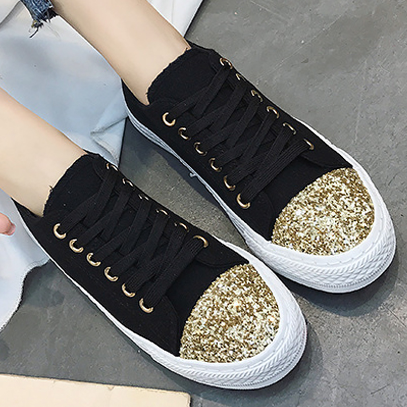 Women casual shoes canvas shoes superstar size 35-40 sexy bling ladies shoes flats female sneakers scarpe donna rizabina concise women sneakers lady white shoes female butterfly cross strap flats shoes embroidery women footwear size 36 40