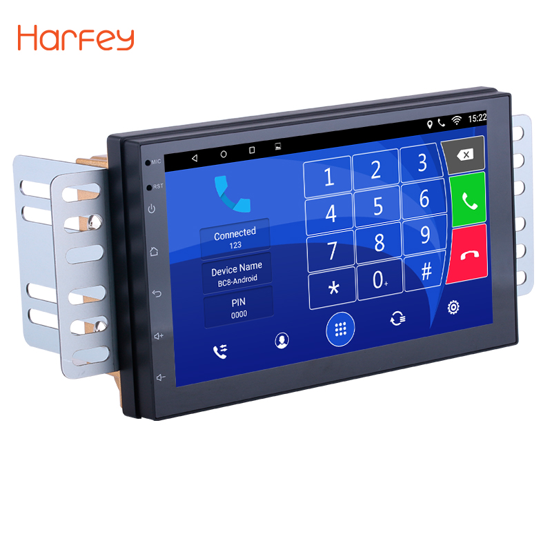 Harfey Universal 7 inch 2Din Android 6.0 Car Radio Bluetooth GPS Navigation Player for KIA NISSAN SUZUKI TOYOTA Hyundai VW HONDA harfey android 7 1 6 0 7inch 2din car gps radio for nissan toyota kia vw hyundai suzuki honda rav4 sunny yaris corolla rio