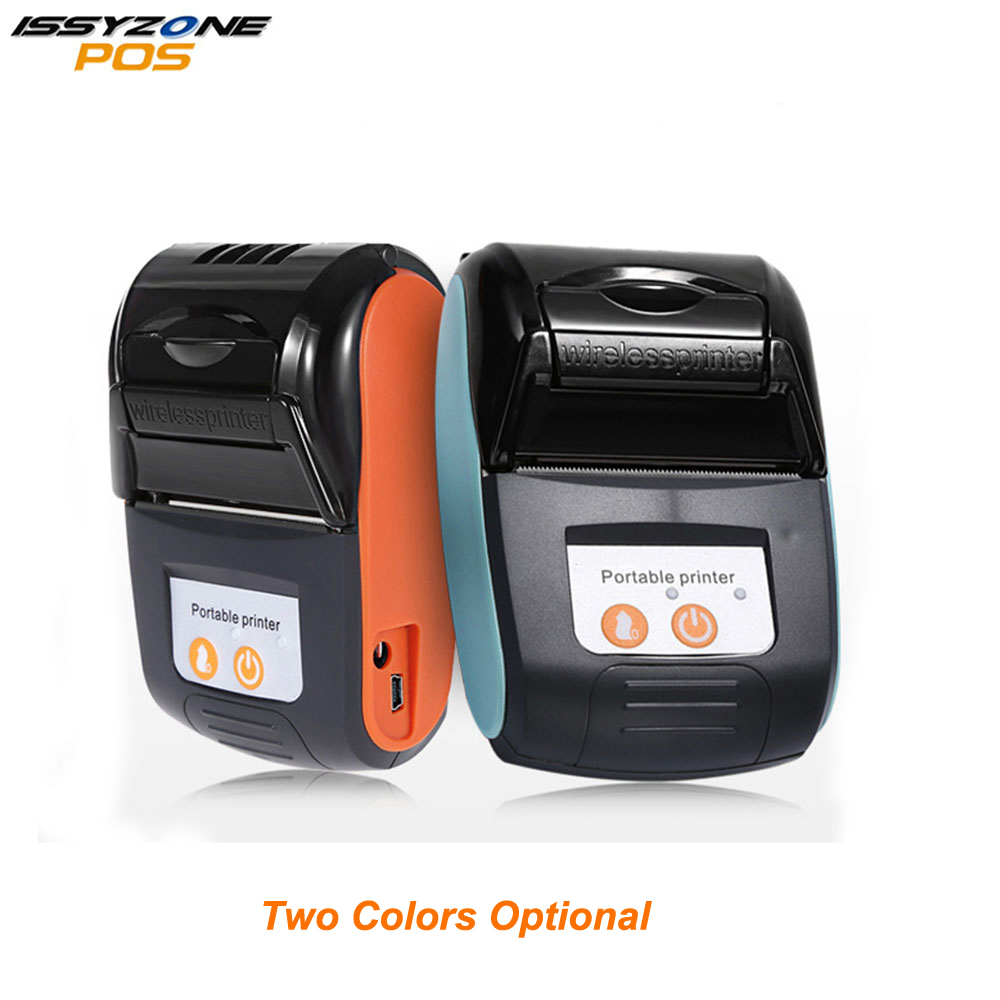 Issyzonpos Bluetooth Mini Printer Thermal Receipt Portable Wireless Printer For Android iOS Loyverse Warehouse Retail Store Mall