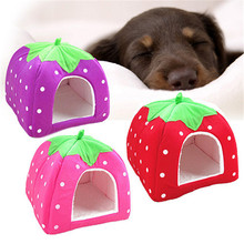 Practical Foldable Soft Sponge Bed | Strawberry Shape