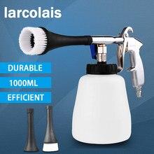 Araba yıkama taşınabilir İç derin temizleme tabancası yıkama kokpit bakım fırça ile hava ile çalışan yüksek basınçlı araba aksesuarları