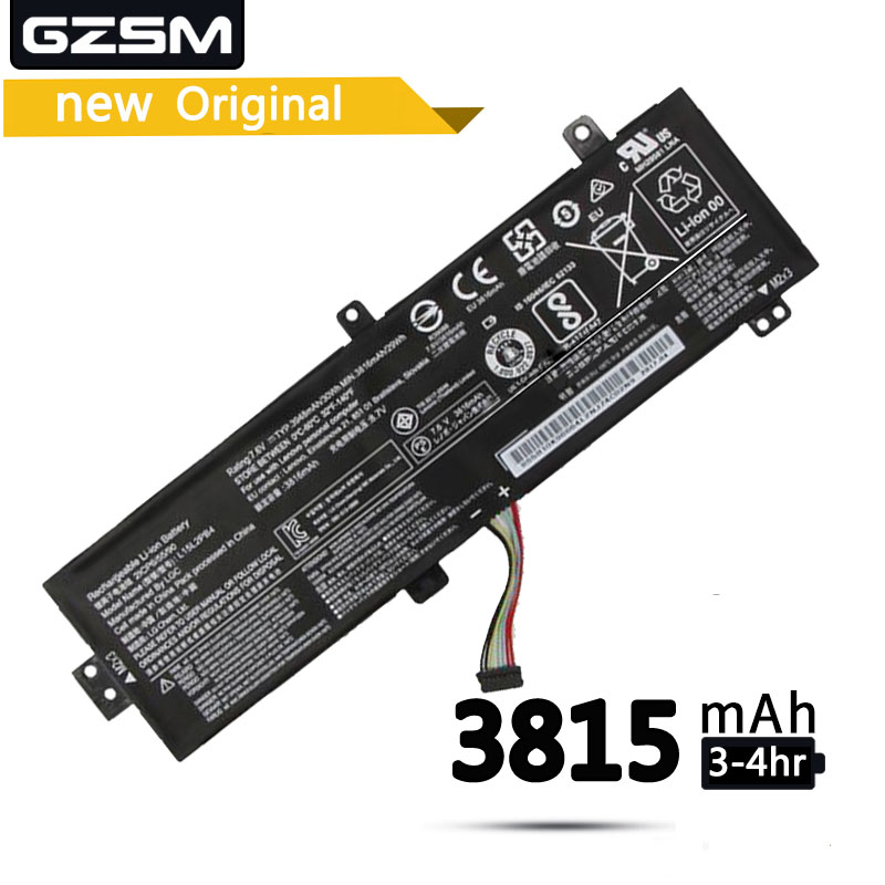 GZSM Laptop Battery L15L2PB4 For LENOVO IdeaPad Xiaoxin 310-15ISK310-15IKB 310-15ABR L15L2PB5 L15M2PB5 L15C2PB5 L15M2PB3 Battery