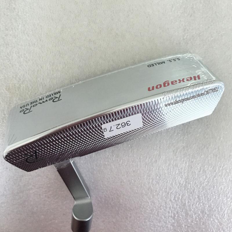 NEW Cooyute Golf heads Romaro S.S.S Hexagon CB TOUR Golf Putter Haeds T silver Golf Club heads No Clubs shaft Free shipping