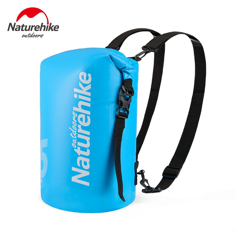 Sports & Entertainment Loyal Naturehike Outdoor Waterproof Bag Dry Wet Separation Swimming Bag Beach Mobile Phone Snorkel Backpack Drifting Bag Luxuriant In Design