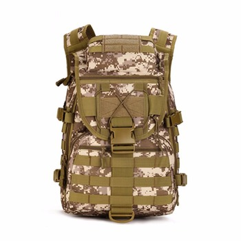 N Outdoor Sports Army Camouflage Nylon Backpack Military Tactical Backpack Camouflage Bag Big mountaineering Bag Anti-Tear фото