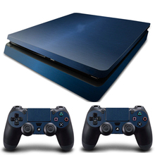 HOMEREALLY PS4 Slim Skin 5 Styles Vinyl Decal Custom Sticker Cover For Playstation 4 Slim Console and Controller Skin PS4 Silm