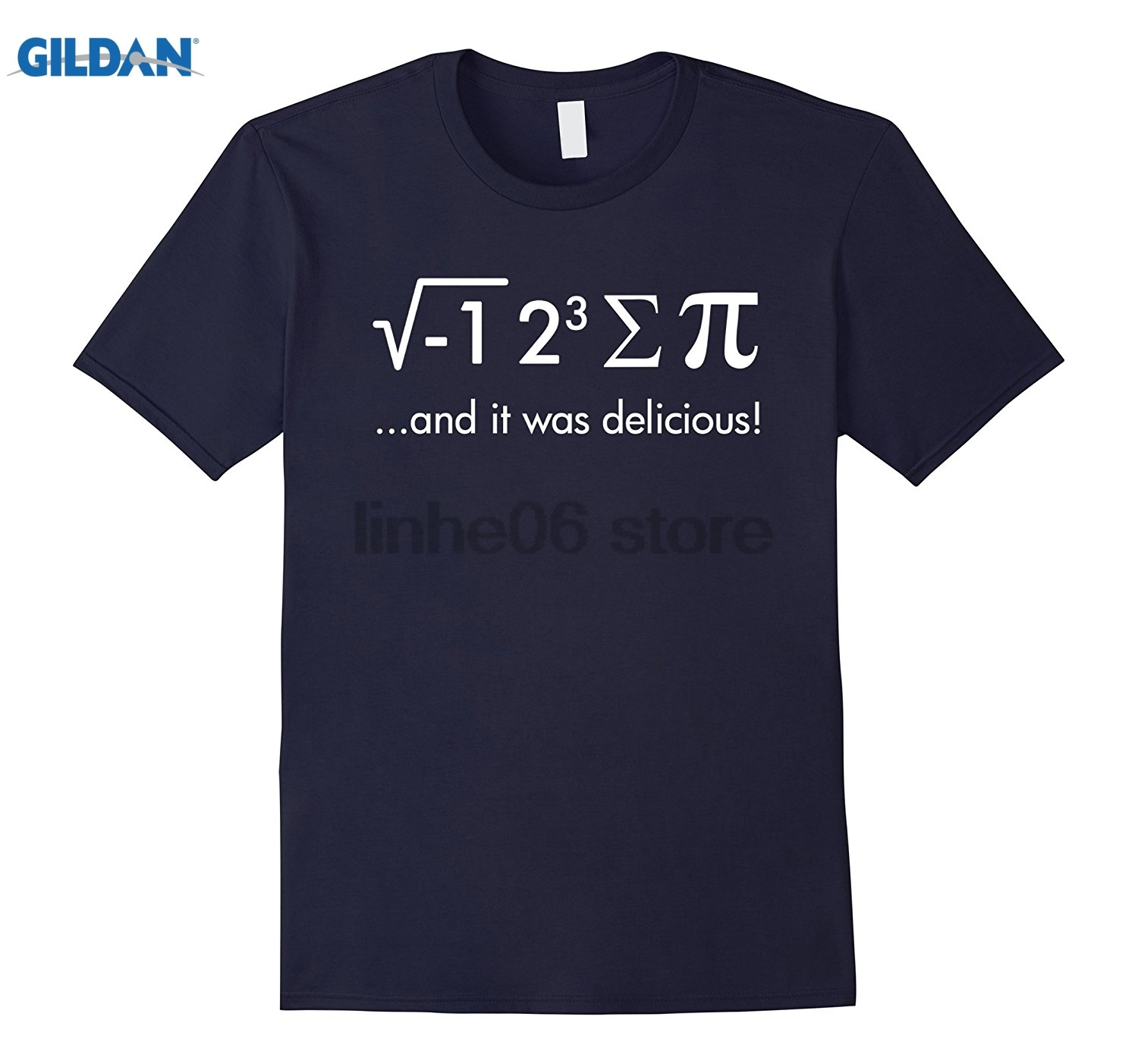 GILDAN I Ate Some Pi And It Was Delicious! T-Shirt Funny Math Shirt