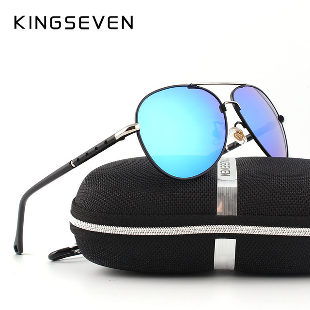 2016 New Arrival KINGSEVEN Polarized Sunglasses Men/Women Brand Designer Male vintage Sun Glasses gafas oculos de sol masculino