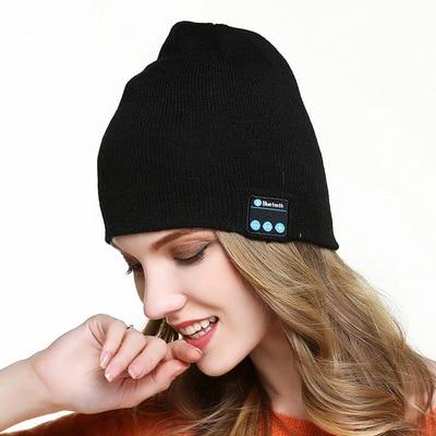 Wireless Bluetooth Call Music Stereo Knit Fashion Cold Winter Warm Headphone CapWireless Bluetooth Call Music Stereo Knit Fashion Cold Winter Warm Headphone Cap