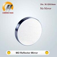 Carmanhaas Co2 Mo Mirror Dia. 38.1/50.8mm Laser Molybdenum Reflective Mirror Reflector Thickness 5mm