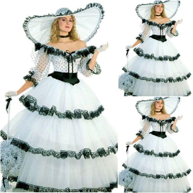 217bb1f81 Vestido del Victorian 1860 s guerra civil Scarlett viste el vestido del  teatro reenactor del