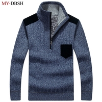 Winter Man Casual Sweater Men Casual Pullovers Knitted Clothing Pullovers Half Turtleneck Men S Sweaters Wool