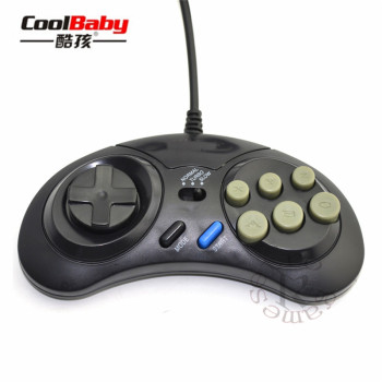 SEGA Genesis 6 Button Gamepad (wired)