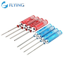 4PCS Hex Screw Driver Tool Kit for RC Helicopter Plane Transmitter Car