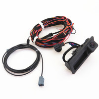 FHAWKEYEQ RCD510 RNS510 RNS310 RNS315 RGB Reversing Rear View Camera + Cable Harness Tail Adapter For 08 13 VW Tiguan 5ND827566C