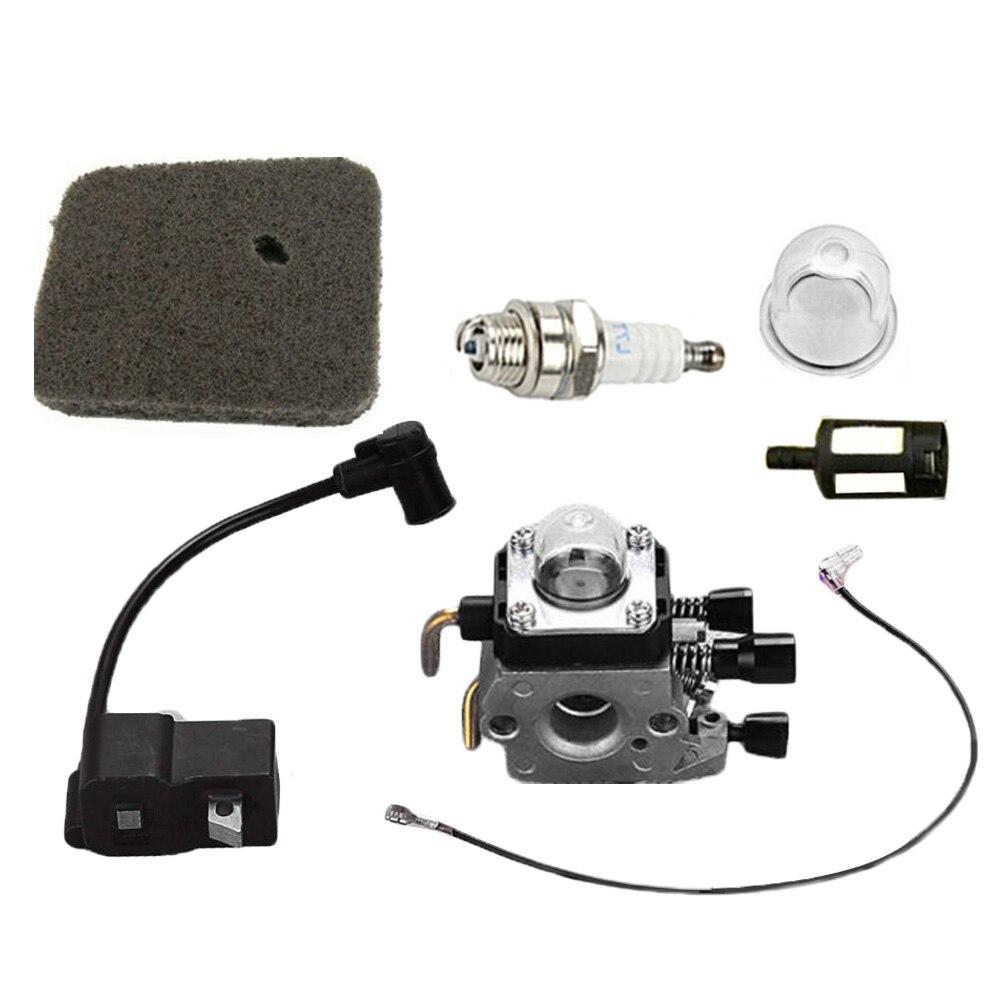 Nouveau carburateur bobine d'allumage bougie pour STIHL FS75 FS80 FS80R FS85 FS85R FC75 outils pièces