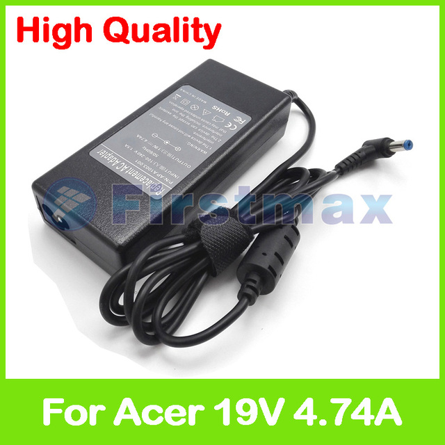 19 v 4.74a 90 w laptop charger ac power adapter para acer aspire 5100 5101 5102 5103 5104 5105 5110 5112 5113 5114 5115 5220 5220G
