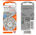 Free Shipping! 5 pack(30PCS) Rayovac Extra Performance Hearing Aid Batteries. Zinc Air 13/A13/PR48 Battery for BTE Hearing aids