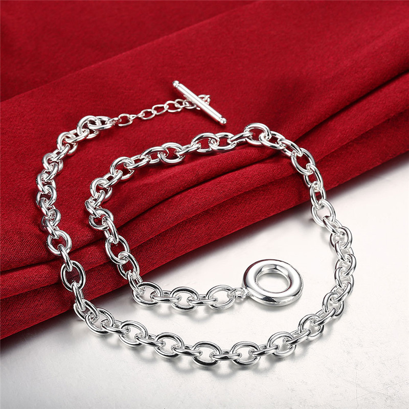 Fashion Europe Style chain necklace jewelry for men 20inches simple charm cool birthday gift top quality hot