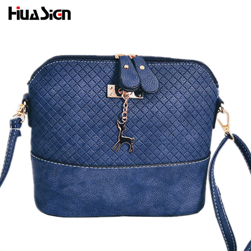 Huasign Women Messenger Bags Fashion Mini Bag With Deer Toy Shell Shape Bag Wome