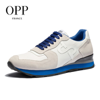 OPP 2018 Cow Leather Flats Fashion Shoes Genuine Leather Loafers For Men Shoes moccasins Men's Casual Footwear 3