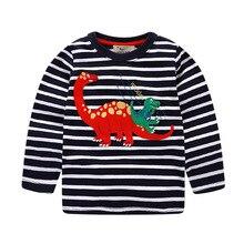 VIDMID Boys T-shirt Kids Tees Baby Boy brand t shirts Children tees Long Sleeve 100% Cotton cardigan sweater jacket shirts