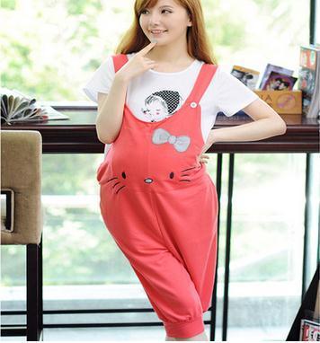 Весна и лето беременным подтяжк брюки мода беременным комбинезон pregant женщины прекрасный комбинезоны SH-0105