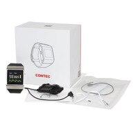 Бесплатная доставка CONTEC CE CMS50K Smart Мода носимых Беспроводной Bluetooth SpO2/монитор ЭКГ Популярные