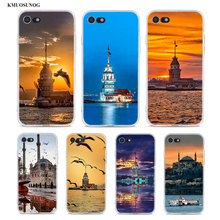 Transparent Soft Silicone Phone Case istanbul world for iPhone XS X XR Max 8 7 6 6S Plus 5 5S SE