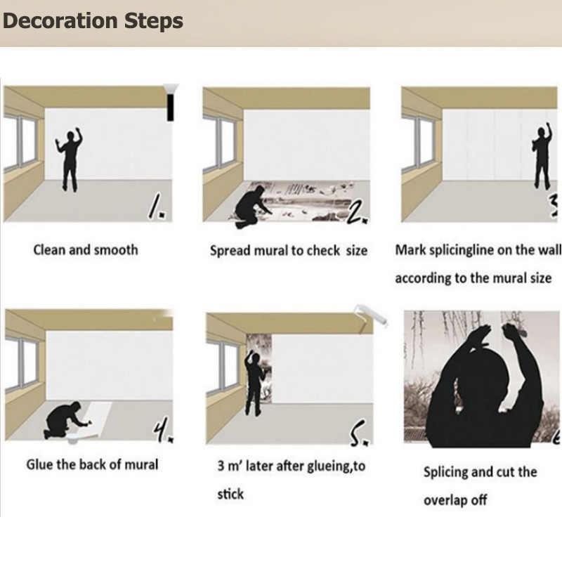 Papel De pared personalizado arte De Cuerpo Moderno Papel pintado Mural pegatinas dormitorio Papel De Parede 3D autoadhesivo vinilo/seda papel pintado
